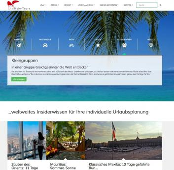 instyletours website min